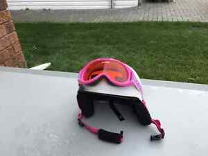 Snow Helmet & Goggles - 2 identical sets
