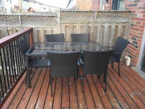 Outdoor table/chair set