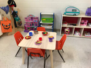 Childcare spots in Oakville. Starting $40/day. Special Promo