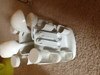 spice rack with utensils $5