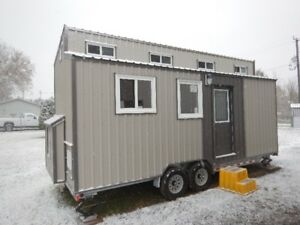 22' Unfinished Tiny House On Wheels