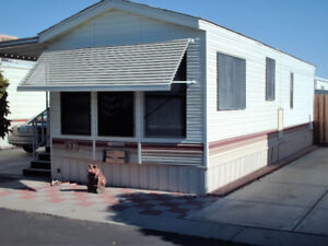 Park Model for rent in Sun Vista RV Resort Yuma AZ.