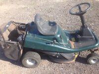 Hayter ride on lawn mower (spares repairs)