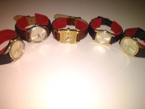 LOT OF 5 AUTHENTIC PRE-OWNED GOLD ROLEX WATCH