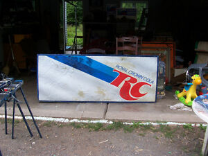 Vintage RC Cola Sign 78 by 32
