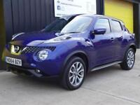 2014 (64) Nissan Juke 1.5dCi Tekna Diesel £20 road tax *safety comfort pack*