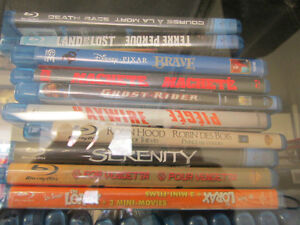 ALL BLU-RAY MOVIES ONLY $5 EACH BLU RAY DVDS