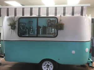 Boler Style Food Trailer - The Bean by Starbuck  $21,000.00