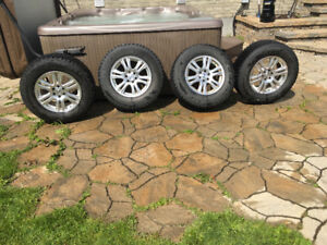 Winter wheels and tires for sale