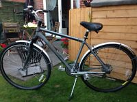 Marin hybrid bike.