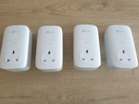 4 x TP-Link AV1300 Powerline Adapters