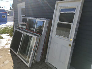 Used Windows and Door