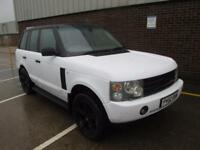 LAND ROVER RANGE ROVER 3.0 TD6 DIESEL AUTOMATIC VOGUE WHITE (part ex to clear)