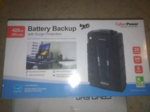 CyberPower battery backup with surge