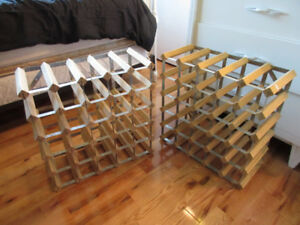 2 wine racks, pick up in Timmins only