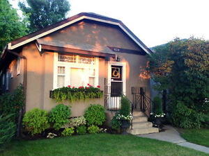 Beautiful character home for rent in central City Park location