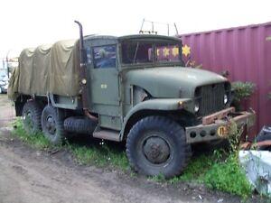 1952 GMC   6X6  Military