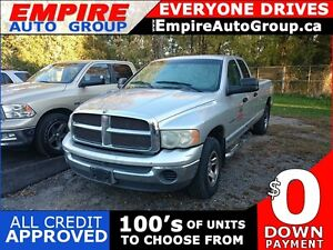 2004 DODGE RAM 1500 QUAD - SNOW PLOW 4X4