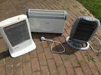 3 heaters