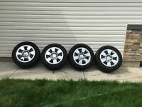 Set of 4 GMC OEM Rims with Goodyear Eagle LS-2 Tires 90% Tread