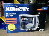 Mastercraft Thickness Planner and Stand Still in Sealed Box