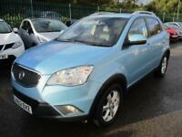 2012 SSANGYONG KORANDO EX 4X4 SUNROOF FULL LEATHER 4X4 DIESEL