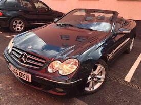 Mercedes-Benz CLK 3.5 CLK350 Avantgarde Convertible 2dr Petrol 7G-Tronic LEATHER