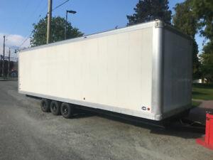 28ft enclosed trailer