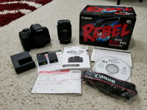 Canon Rebel T6i (750D) **MINT CONDITION**