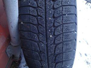 "Michelin 195/55 R15 85Q Winter Tires & Rims with 3/8"" tread left Edmonton Edmonton Area image 3"