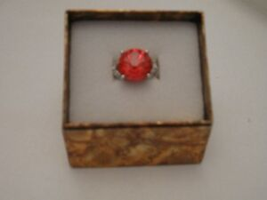 Ruby Red Ring - size 10