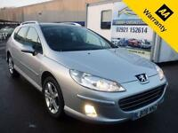 2008 PEUGEOT 407 2.0 SW GT HDI 5D 135 BHP! SAT NAV! NEW CLUTCH+FLYWHEL! 2 OWNERS