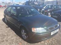 1999/T Honda Civic 1.4i sr a/c auto FULL MOT EXCELLENT RUNNER