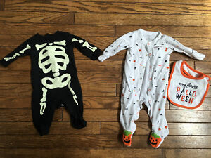 Halloween outfits 6m,  6/9m