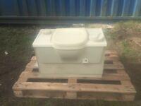 Manual flush Thetford cassette toilet