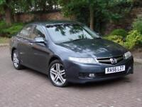 AA WARRANTY!!! 2007 HONDA ACCORD 2.2 i CTDi SPORT 4dr, HALF LEATHER, 1 YEAR MOT