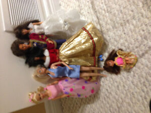Barbie Doll Set with Clothes, Accessories and Furniture