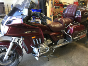 Honda Goldwing with trailer