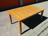 Dining table set with chairs complete