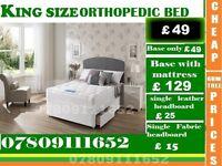 Single / Double / King Sizes Bed Orthopedic Bed Frame with Range