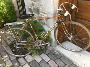 Raleigh SUPER COURSE Bike (Brown) early 1970's