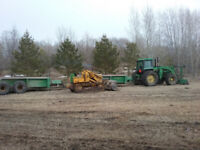 Corral Cleaning / Manure Spreading