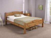 ELWOOD ANTIQUE PINE SINGLE 3FT BED