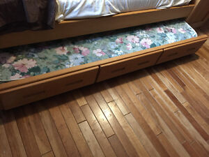 Crate furniture single Trundle Bed Kitchener / Waterloo Kitchener Area image 1