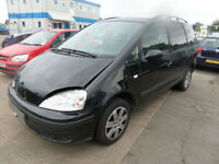 Ford Galaxy 2.3i Zetec DAMAGED REPAIRABLE SALVAGE