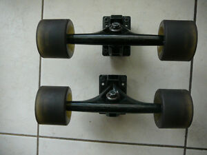 Sims Independent Trucks with wheels like new $50