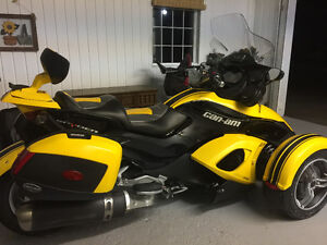 2009 Can Am Spyder RS  NO TRADE!!!