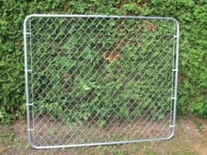 "5FT HIGH X 68"" WIDE CHAIN LINK GATE"
