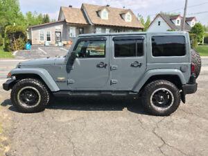 Jeep wrangler Sahara Unlimited 2014