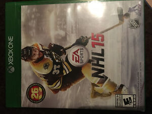 Xbox one NHL 15 and Tomb Raider